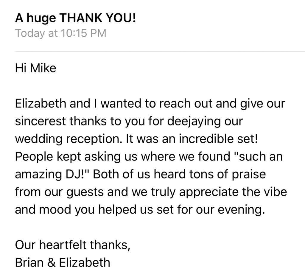 Brian & Elizabeth Soul Deep Testimonial