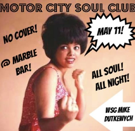 Motor City Soul Club | May 11, 2019